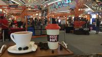 """Festival kopi bertajuk """"Kisah Kopi Volume 2"""" yang digelar di Atrium Lippo Mall Kemang Jakarta Selatan. (Liputan6.com/Putu Elmira)"""