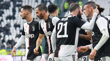 Ronaldo 2 Gol, Juventus Sikat Udinese di Allianz Stadium