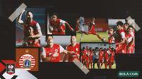 Kolase - Persija Jakarta di Final Leg 1 Piala Menpora (Bola.com/Adreanus Titus)