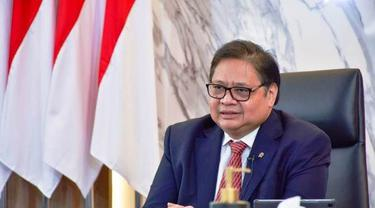 Menteri Koordinator Bidang Perekonomian, Airlangga.