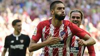 4. Yannick Carrasco (Atletico Madrid) - 3 Gol. (AFP/Pierre-Philippe Marcou)