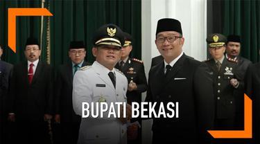 Eka Supria Atmaja menjadi Bupati Kabupaten Bekasi yang akan menjabat hingga tahun 2022. Hari Rabu (12/6) ia dilantik Gubernur Jawa Barat Ridwan Kamil.