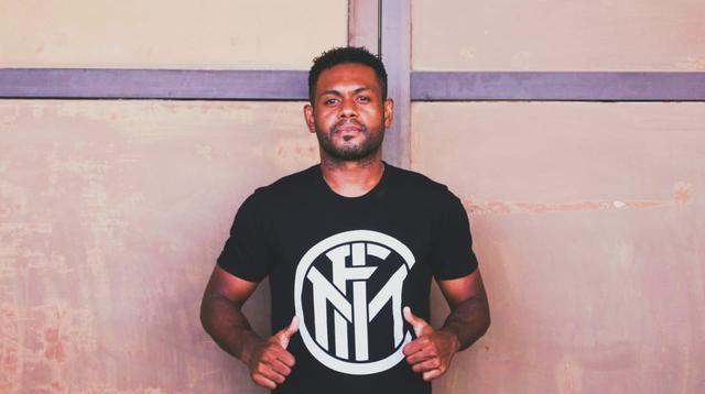 Gelandang Madura United, David Laly. (Bola.com/Nandang Permana)