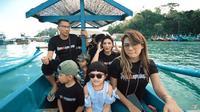 Liburan keluarga Anang dan Ashanty ke Malang (Sumber: YouTube/The Hermansyah A6)