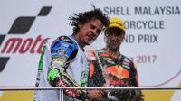 Franco Morbidelli, rookie MotoGP 2018. (MOHD RASFAN / AFP)