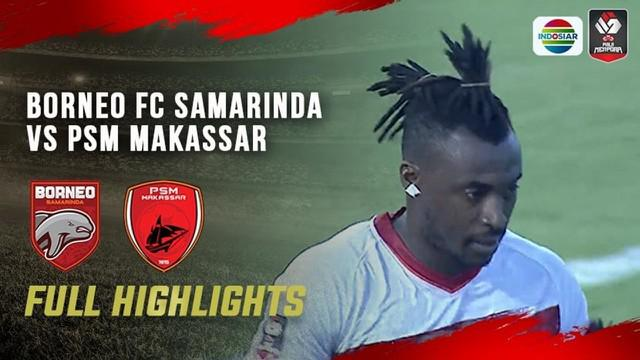 Berita video highlights laga matchday ketiga Grup B Piala Menpora 2021 antara Borneo FC melawan PSM Makassar yang berakhir dengan skor 2-2, Rabu (31/3/2021) sore hari WIB.