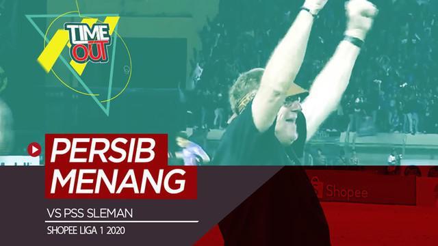 Berita video Time Out kali ini membahas salah satu pertandingan pada pekan ketiga Shopee Liga 1 2020 yaitu Persib vs PSS Sleman.