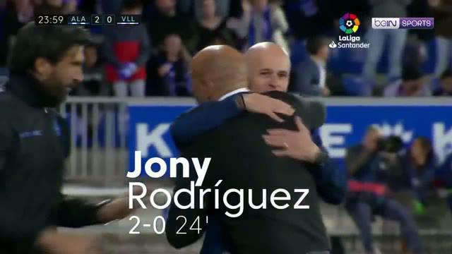 Berita video gol unik eks striker Manchester City yang kini di Alaves, John Guidetti, menghiasi laga La Liga 2018-2019 pekan ini saat timnya menjamu Real Valladolid di Estadio de Mendizorroza, Jumat (19/4/2019).