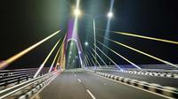 Salah satu jembatan di Provinsi Riau. (Liputan6.com/M Syukur)