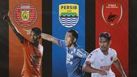 Piala Menpora -  Assanur Rijal, Frets Butuan, Zulkifli Syukur (Bola.com/Adreanus Titus)