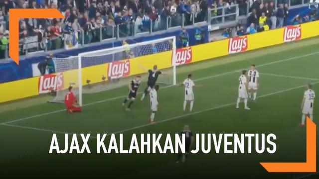 Ajax Amsterdam sukses menjungkalkan Juventus pada leg kedua babak perempat final yang berlangsung di Allianz Stadium.