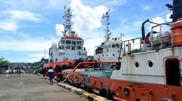 Dermaga bongkar muat di kawasan Pelabuhan Tanjung Intan Cilacap, Jawa Tengah. (Foto: Liputan6.com/Muhamad Ridlo)