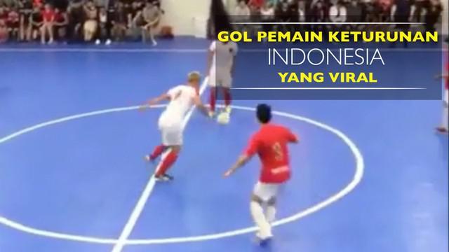 Video gol sensasional pemain futsal Wales keturunan Indonesia, Rico Zulkarnain, yang ditonton jutaan kali.