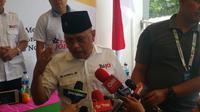 Relawan Jokowi, Car Free Day itu sebagai sebuah kegembiraan yang bersifat sporatif, bukan karena ada triggernya. (Liputan6.com/Nanda Perdana Putra)