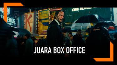 Film John Wick Parabellum sukses menumbangkan Avengers: Endgame dari puncak box office. John Wick berhasil mendapat USD57 juta di minggu ketiga penayangan.