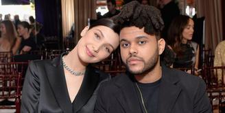 Bella Hadid tak dendam dengan Selena Gomez. Namun tentu saja ia tak ingin diingatkan mengenai hubunganThe Weeknd dan Selena. (Getty Images/Harper's Bazaar)