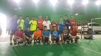Ganda putra Indonesia yang dipimpin Herry Herry Iman Pierngadi memindahkan tempat latihan ke Solo agar para pemainnya tidak jenuh. (dok. PBSI)