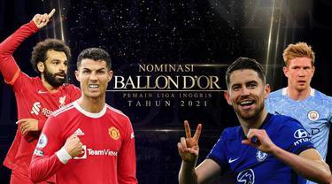 Berita Video, Berikut Nominasi Ballon d'Or dari Liga Inggris, Cristiano Ronaldo dan Jorginho Favorit