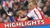 Video highlights Premier League antara Sunderland melawan Chelsea yang berakhir dengan skor 3-2, Sabtu (7/5/2016) WIB.