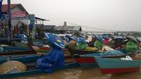 Pasar Terapung di Banjarmasin (Liputan6.com)
