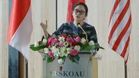 Ketua DPR RI Dr. (H. C) Puan Maharani. (Foto: Bonis/Man)
