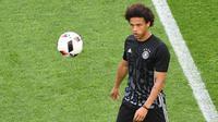 Gelandang serang Schalke 04 asal Jerman, Leroy Sane. (Mehdi Fedouach)