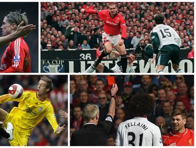 Besok dini hari Liverpool akan menjamu Manchester United, keduanya merupakan dua tim tersukses di Premier League. (AFP)