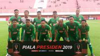 Skuat PSS Sleman di Piala Presiden 2019. (Bola.com/Vincentius Atmaja)