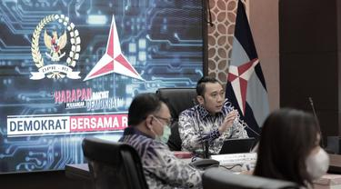 Ketua Fraksi Partai Demokrat di DPR, Edhie Baskoro Yudhoyono atau Ibas