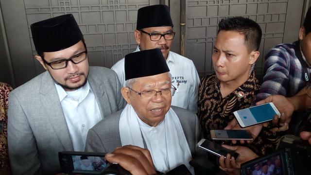 KH Ma'ruf Amin di Malang
