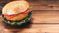 Burger vegan. (Sumber: pixabay)