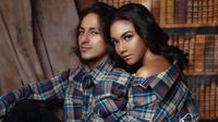 Potret Mesra Angela Gilsha dan Dylan Carr (sumber: instagram/fdphotography90)