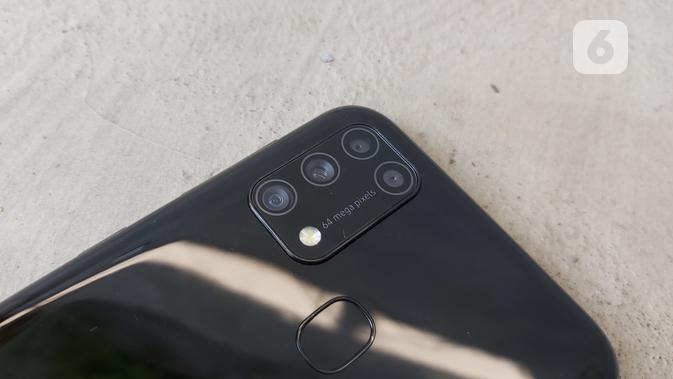 Kamera belakang Samsung Galaxy M31. Dok: Iskandar