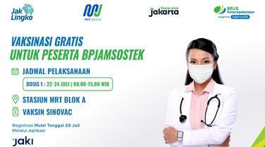 Genjot Herd Immunity, BPJS Ketenagakerjaan dan MRT Jakarta Akan Gelar Vaksinasi Bagi Pekerja