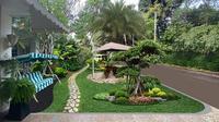 Menengok Taman Rumah Raffi Ahmad yang Indah dan Mewah. (dok.Instagram @raffinagita1717/https://www.instagram.com/p/CCCi4iSjOvP/Henry)