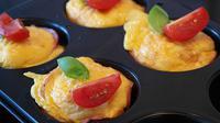 Ilustrasi muffin omelet (Sumber: Pixabay/RitaE)