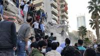 Gempa Turki. Dok: AP Photo/Ismail Gokmen