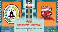 Shopee Liga 1 - PSS Sleman Vs Madura United (Bola.com/Adreanus Titus)
