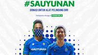 Persib Bandung menggelar program amal menghadapi pandemi virus Corona. (Dok Persib)