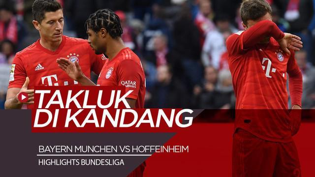 Berita Video Bayern Munchen Telan Kekalahan Perdana di Bundesliga