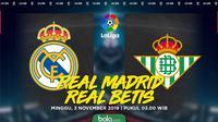 La Liga - Real Madrid Vs Real Betis (Bola.com/Adreansu Titus)