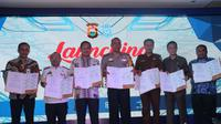 Launching tilang elektronik di Makassar (Fauzan/Liputan6.com)