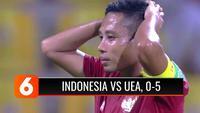 Laga terakhir kualifikasi Piala Dunia 2022 Grup G. Evan Dimas gagal penalti, Indonesia takluk 0-5 dari UEA. Timnas Indonesia hanya meraih nilai 1, dan berada di posisi paling bawah klasemen.