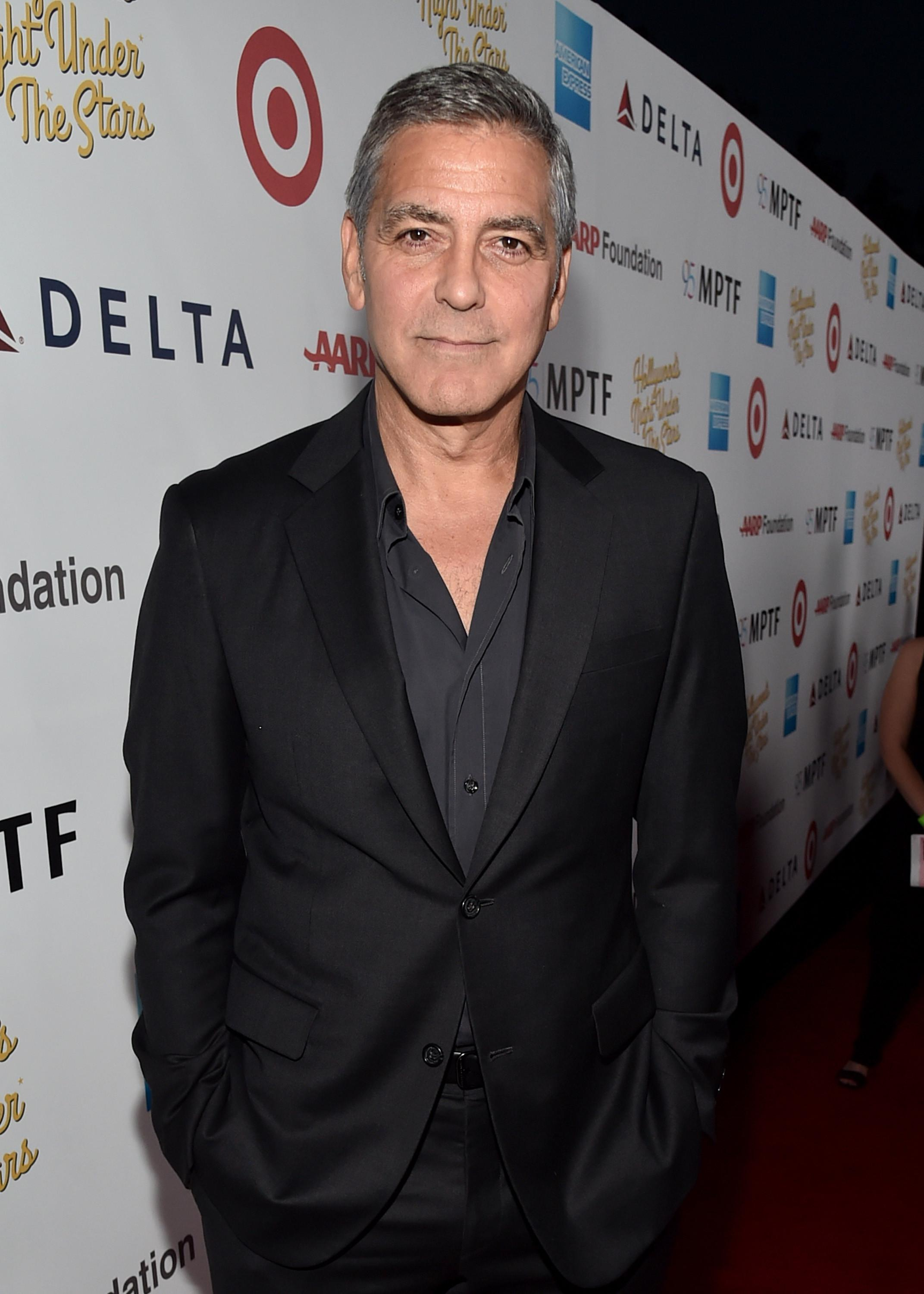 George Clooney. (AFP/Alberto E. Rodriguez / GETTY IMAGES NORTH AMERICA)