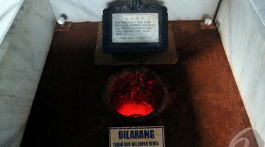 Sebuah sumur yang digunakan G 30 S / PKI untuk mengubur para jenderal, Jakarta, Selasa (30/9/2014) (Liputan6.com/Johan Tallo)
