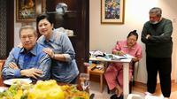 Kisah cinta SBY dan Ani Yudhoyono bak film UP. (Sumber: Instagram/aniyudhoyono)