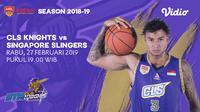 Live Streaming ABL: CLS Knights Indonesia vs Slingers di Vidio.com