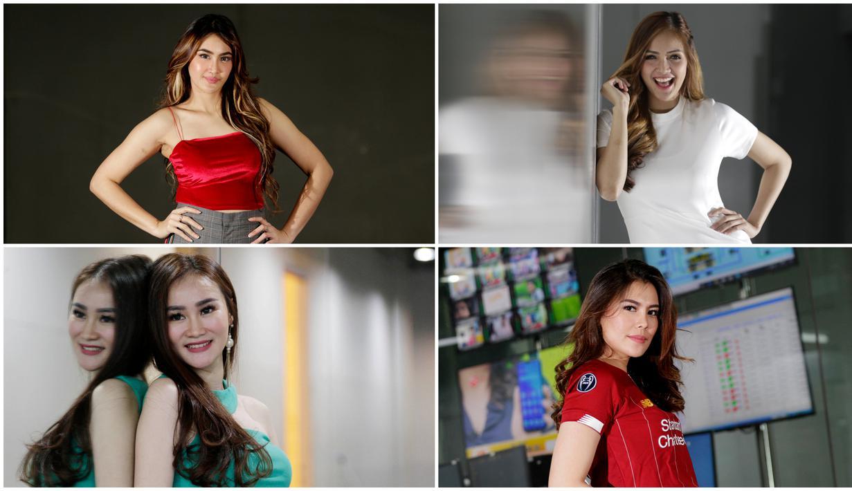 Berikut ini potret empat presenter olahraga berparas cantik yang sering menghiasi layar kaca Indonesia.