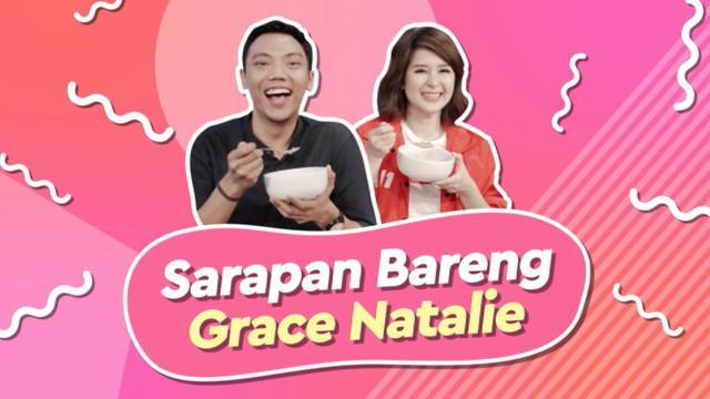 KLY Lounge kedatengan Ketua Umum PSI Grace Natalie. Iahadir dengan sarapan sehat, dan cerita saat dirinya bertemu Presiden Jokowi di Istana Bogor.