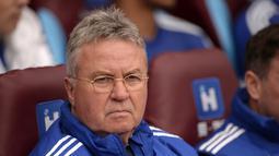 Pada periode tersebut ia memenangkan Piala FA dan hanya kalah satu kali di semua kompetisi yang dijalani Chelsea. Kesempatan tersebut berhasil ia lalui dalam posisi yang lebih baik dari sebelumnya. (AFP/Oli Scarff)